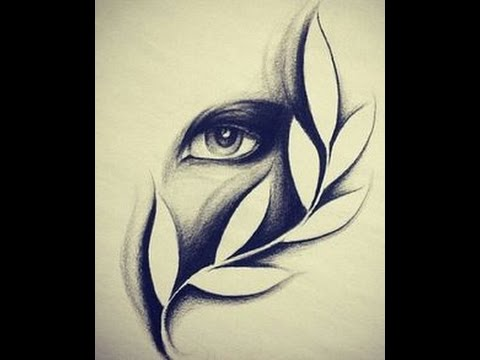 Pencil sketch eyes drawing realistic eyes pencil art