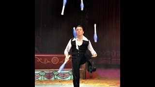 Willy Colombaioni - 10 best Juggling World Record