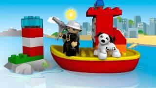 LEGO DUPLO - 10591 Пожежний катер(Відправляйтеся з Вашою дитиною на допомогу на пожежному катері з хоробрим пожежником та собакою-рятувальн..., 2015-08-01T12:00:00.000Z)