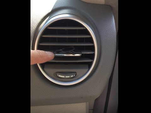 Ml350 Air Vent Controller Replacement Youtube