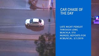 Car Chase Of The Day: Long Beach, CA 3/1/19