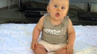 Bébé a le sens du rythme