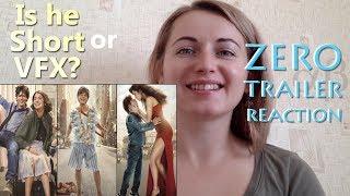 White Girl Reacts To Zero Movie Trailer | Shahrukh Khan
