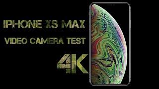 iPhone Xs Max Video Camera Test   4K