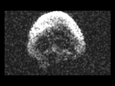Crazy! Halloween Asteroid Looks Like A Creepy Human Skull