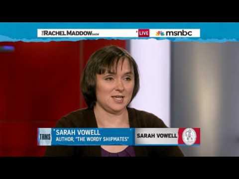 Rachel MaddowSarah Vowell joins Rachel Maddow