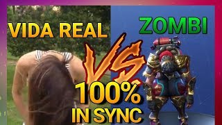 FORTNITE ? All Dances in REAL LIFE of the 3 SEASON (Zombi, Robot, Dance)