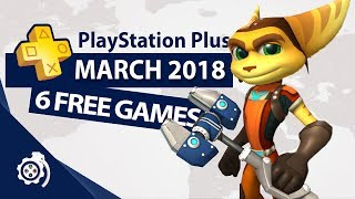 PlayStation Plus (PS+) March 2018