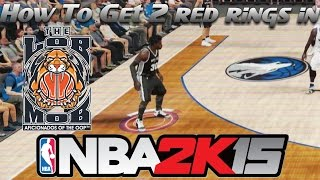 How To Get Two Red Rings In NBA 2K15 - Badge Tutorial