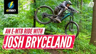 Cutting Loose: An E-MTB Ride With Josh Bryceland   All New 2020 Cannondale Moterra First Look