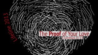 The Proof of Your Love (WNZR's Lifeline 2013 Short Film) #Thumbprint [MVNU Chapel]