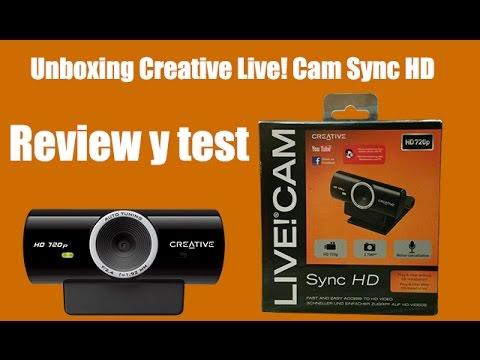 creative live cam sync hd 720p drivers