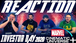 Disney Investor Day - Marvel Trailers and Announcements REACTIONS!!