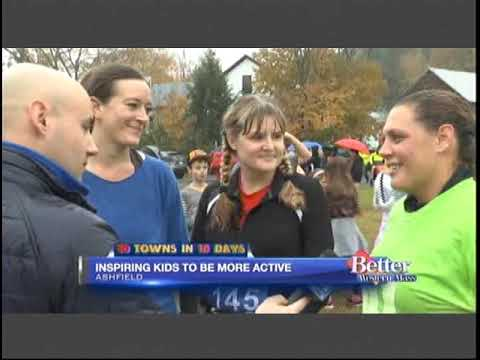 Sanderson Academy inspiring kids to be more active with 100 Mile Club