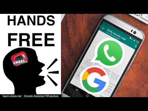 How to Send WhatsApp Voice Messages Using Google Assistant (Voice to Text message)