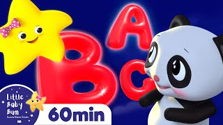 ABC Song With Twinkle Little Star +More Nursery Rhymes and Kids Songs   Little Baby Bum
