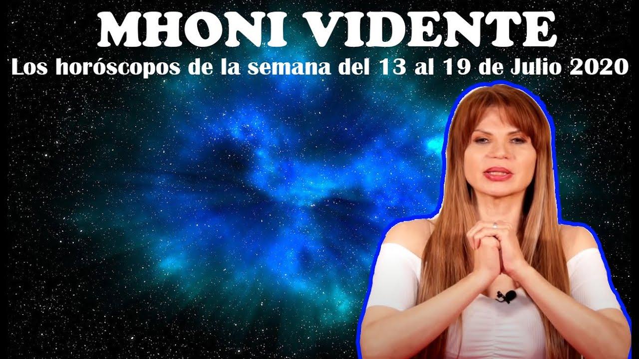 Mhoni Vidente | Los horóscopos de la semana del 13 al 19 de Julio | Cosas dulces