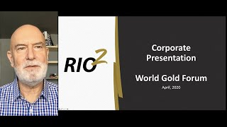 Alex Black's presentation at the World Gold Forum on April 20, 2020