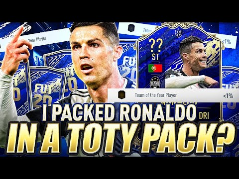 I Packed Ronaldo In A Team Of The Year Pack?