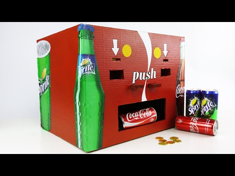 How to Make Coca Cola and Sprite Vending Machine