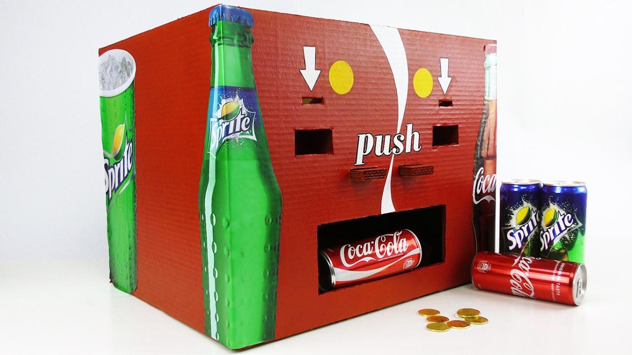 coca cola maskin