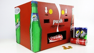 How to Make Coca Cola and Sprite Vending Machine thumbnail