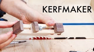 How to Make Perfect Grooves, Dados and Half Laps with a Kerfmaker Jig
