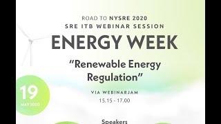 Road to NYSRE 2020 : Regulasi pada EBT