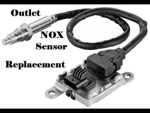 How to replace an Outlet NOX Sensor - YouTube