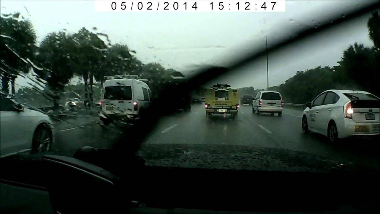 route miami beach to miami airport car rental (alamo) - youtube