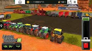 Fs18 farming simulatör 2018 / traktör ve makine düzenlemesi / vehicle arrangement / # 378 HD /