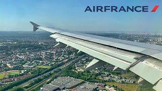 Air France Airbus A321 landing Paris, from Biarritz [FLIGHT REPORT]