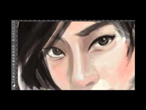 Tao okamoto Speed Paint