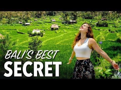 BALI'S MOST BEAUTIFUL PLACE - Hidden Rice Field in Sidemen Village