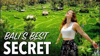 Download Video BALI'S MOST BEAUTIFUL PLACE - Hidden Rice Field in Sidemen Village MP3 3GP MP4