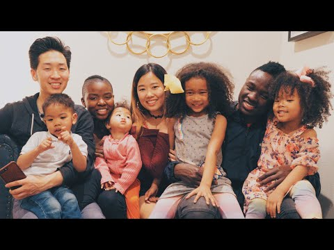 OUR KOREAN AND BLACK FAMILY REUNION!