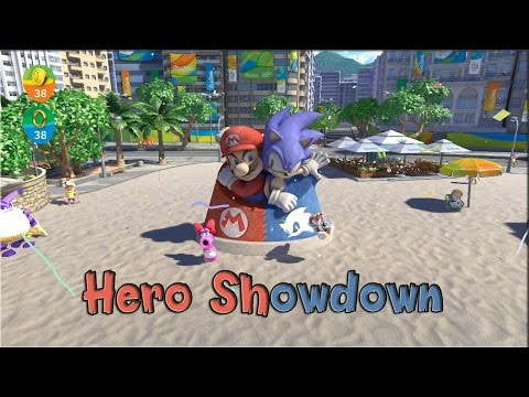 Mario and Sonic at the Rio 2016 Olympic Games - Hero Showdown