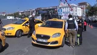 İstanbul'da Ticari Taksi ve Yolcu Minibüslerine Uygulama