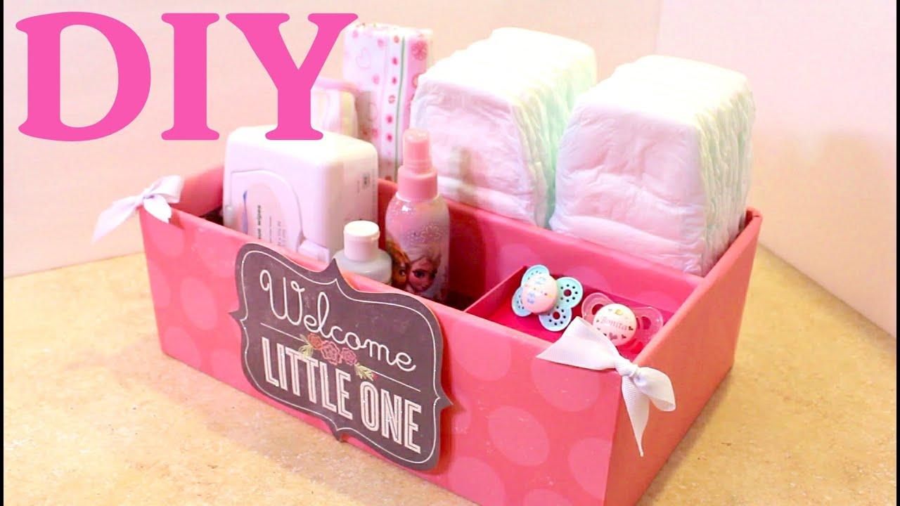 Caja organizadora para bebes baby organizer - Cajas decoradas para bebes ...