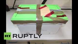 France: Airbus A320 black box at French Air Investigatoin Bureau