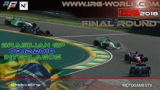 rFactor 2 – IRG Formula 2018 – ROUND 19 – Brasilian GP - Interlagos - LIVESTREAM