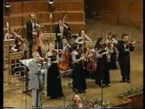 Eduard Grach and his pupils plays Sarasate