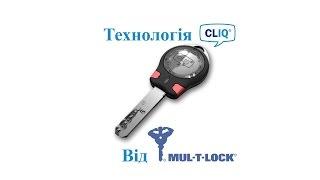 Технологія CLIQ від Mul-t-lock ( Електромеханічний Циліндр,Замок )