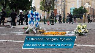 La región de la entidad con el mayor registro de estos hechos violentos es Tecamachalco, ubicada en la zona conocida como el Triángulo Rojo.  www.eluniversalpuebla.com.mx