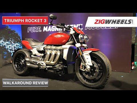 Triumph Rocket 3 India Walkaround Review | Specs, Top Speed, Features & More | ZigWheels