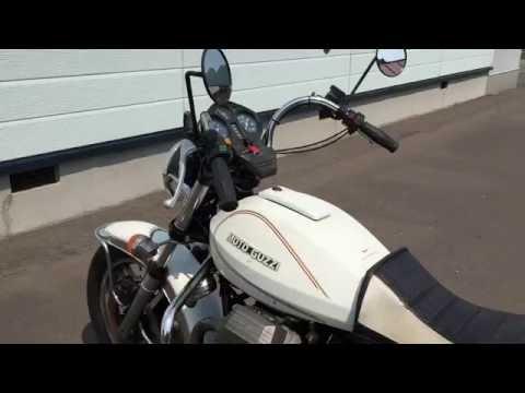 Start of Moto Guzzi California 2