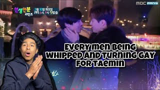 Every men being whipped and turning gay for Taemin(REACTION)