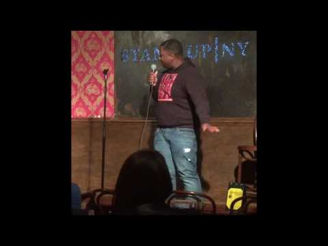 Jarius Caldwell at StandUp NY