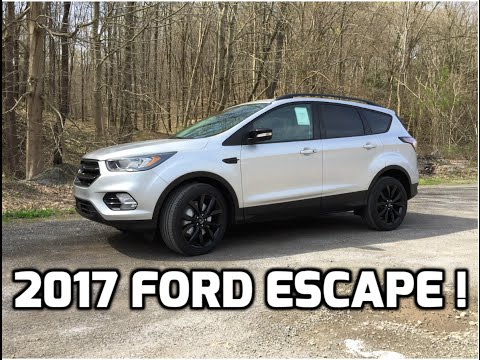 2017 Ford Escape Review and Test Drive - Best SUV in it's class ?