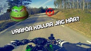 swedish motovlog how to corner on a motorcycle